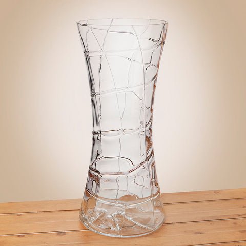 Glass Web Vase