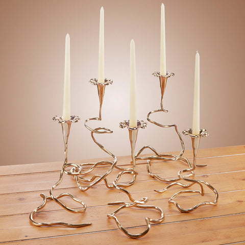 Morning Glory Table Vines Candleholder