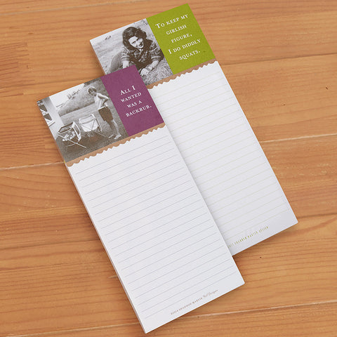 Shannon Martin Magnetic Notepad