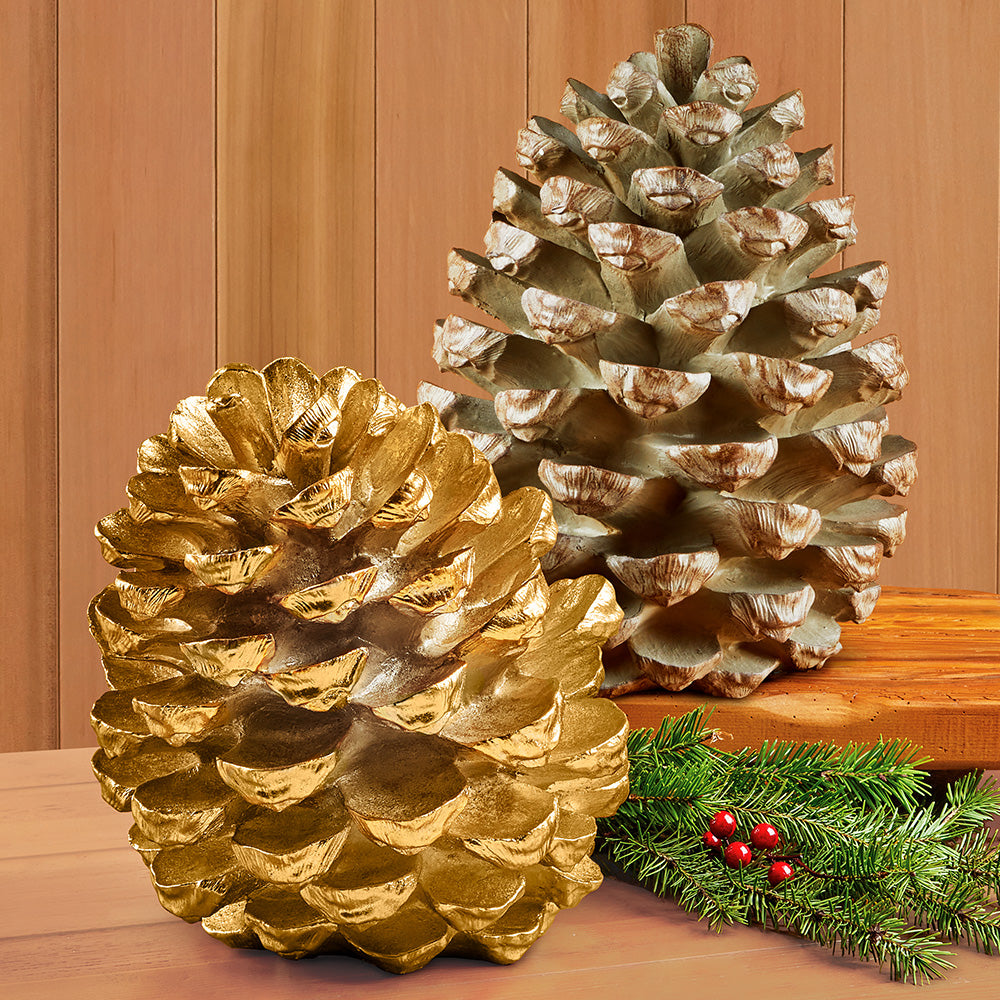 Resin Pinecones
