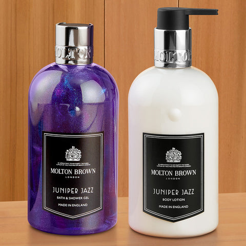 Molton Brown Shower Gel and Body Lotion, Juniper Jazz