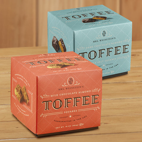 Mrs. Weinstein's Toffee Squares, 1 pound
