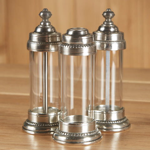 Tabletop Toscana Salt and Pepper by Match Pewter