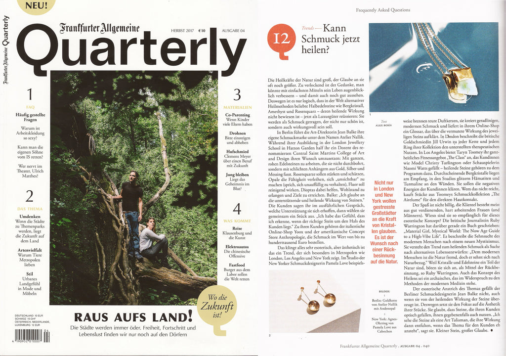 Interview in QUARTERLY Magazine