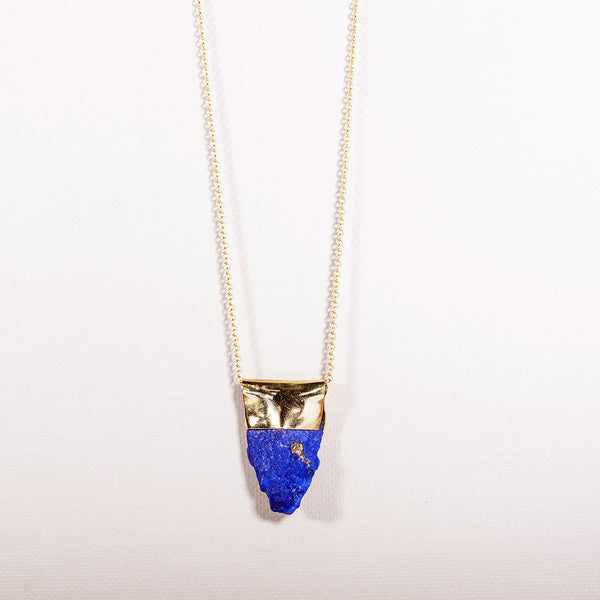 Pure Gold: Lapis Lazuli with Pyrite