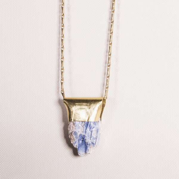 Light Blue Kyanite (long chain)