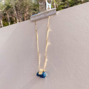 Apatite Gold Necklace