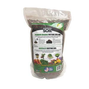 Premium Organic Potting Soil Mix