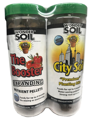 The Booster and City Living Soil Wafers Combo Pack