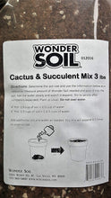 Load image into Gallery viewer, Premium Expanding Cactus and Succulent Living Soil Planting Mix
