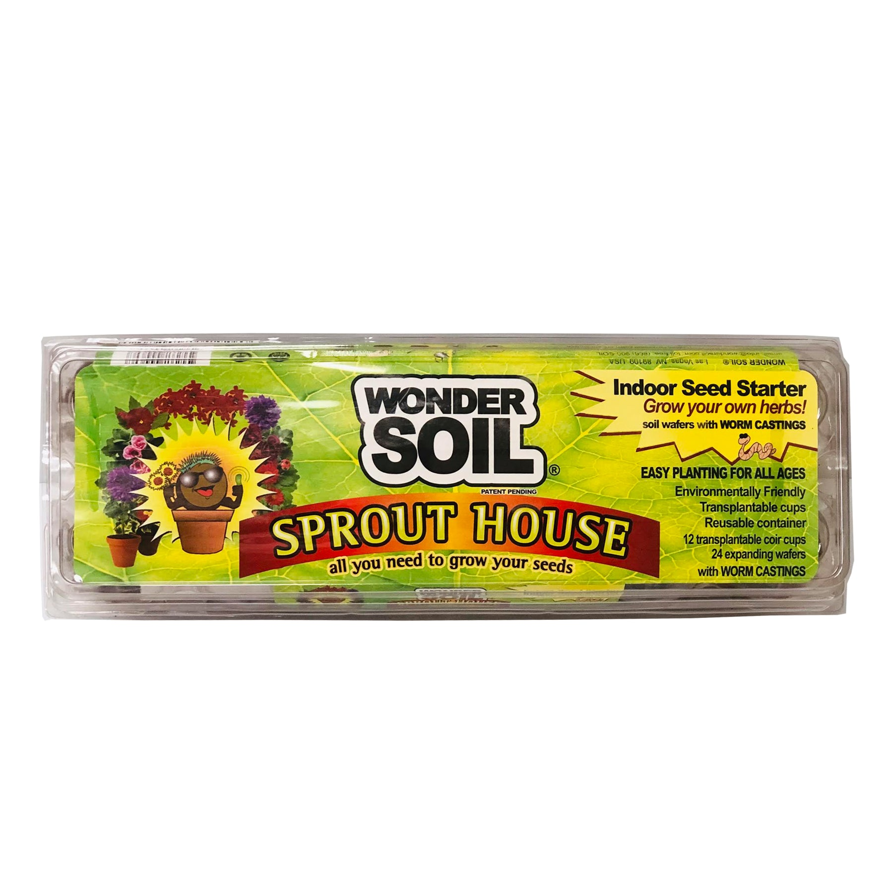 Reusable Sprout House