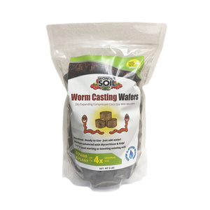Worm Casting Wafers