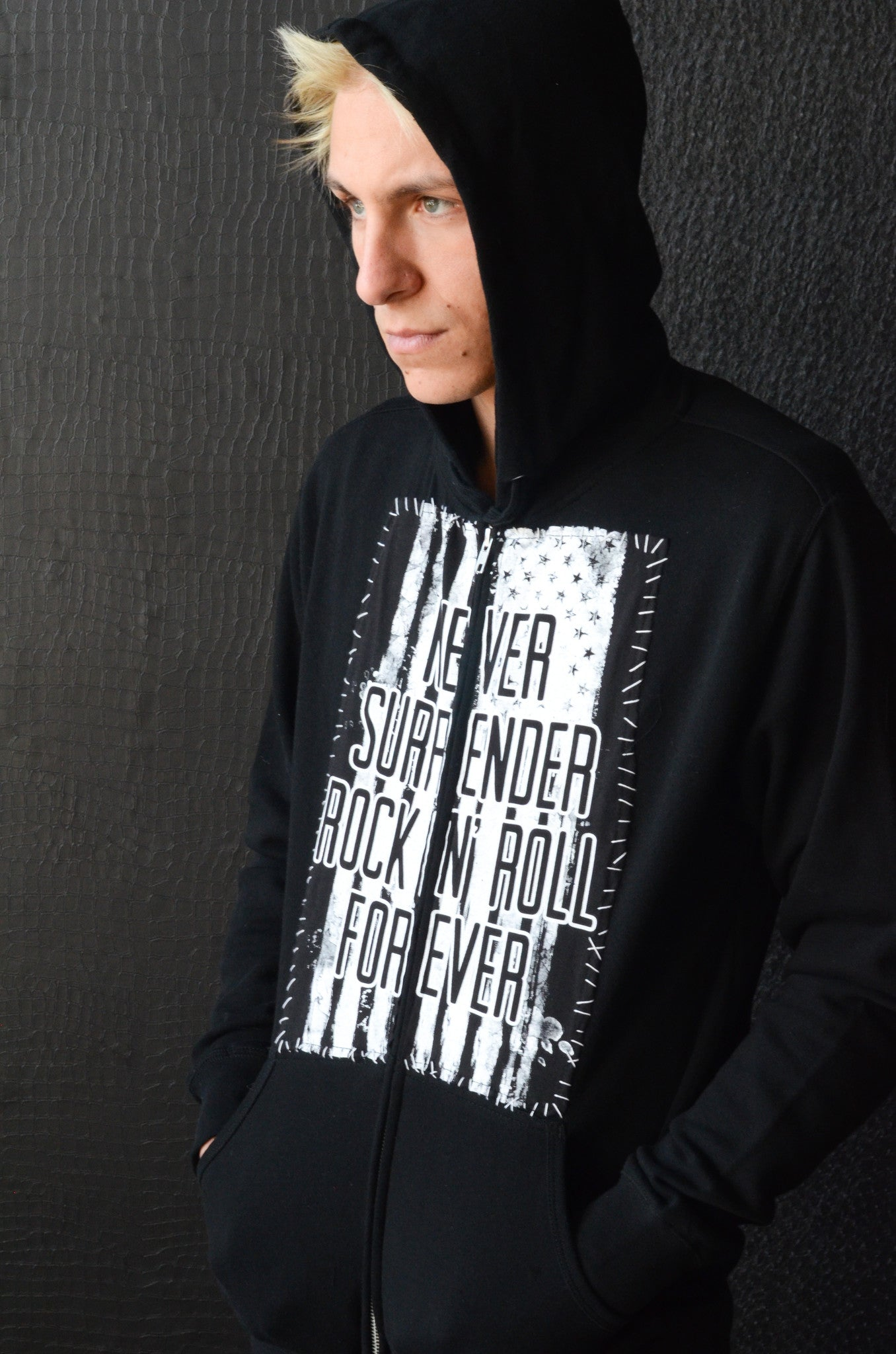 """Never Surrender Flag"" Hoodie"