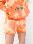 """JUNGLE CAT"" orange shorts"