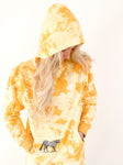 """JUNGLE CAT"" yellow hoodie"