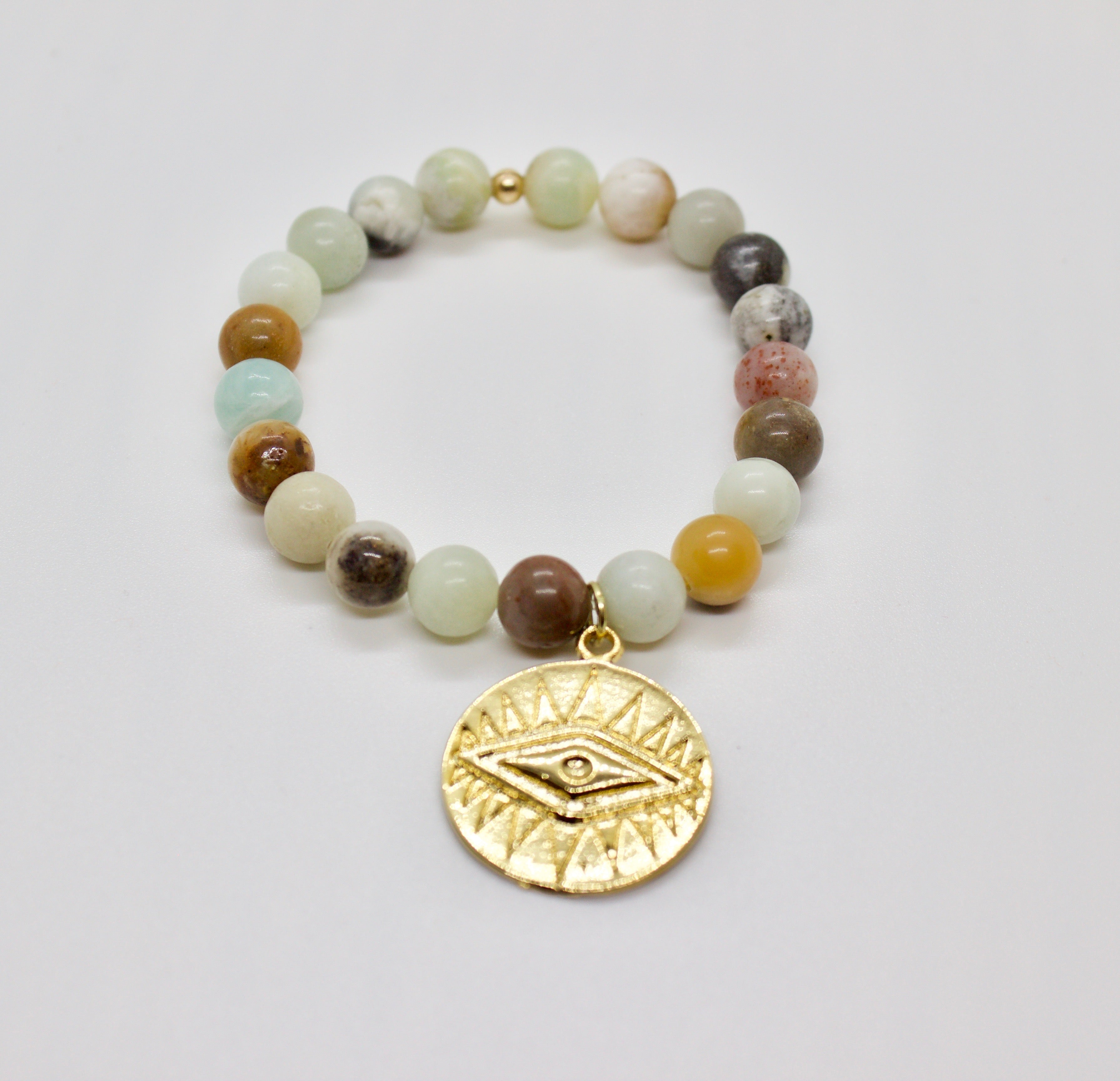 earth bracelet with pendant