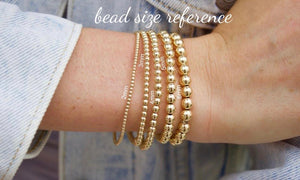 mixed sizes bracelet set