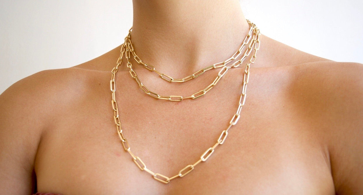 margaux link necklace
