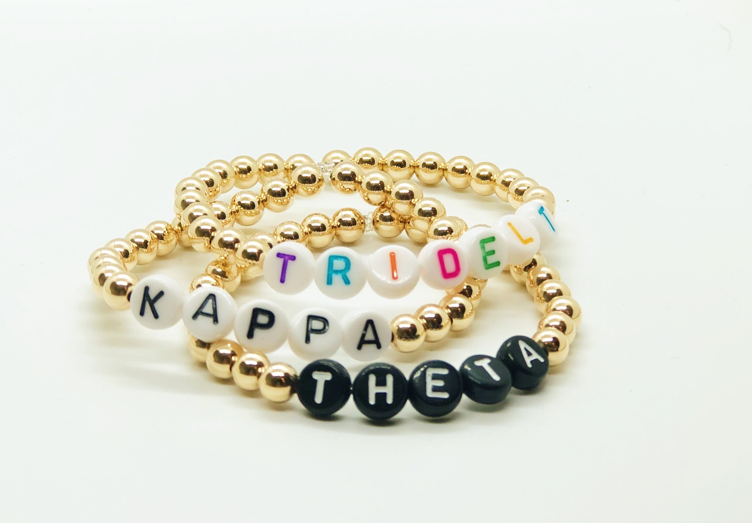 personalized sorority bracelet
