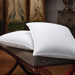 Wrap Around Down Bed Pillow - Core of feathers surrounded by down