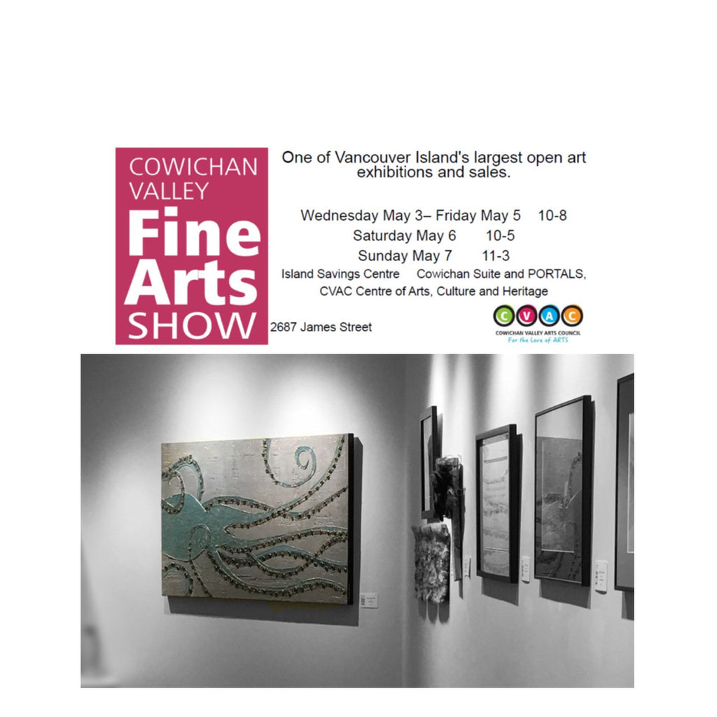 Cowichan Valley Fine Arts show 2017