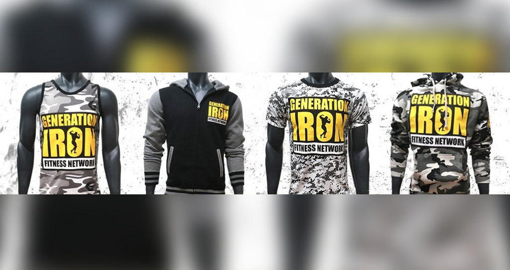 Generation Iron Camo Collection In The GI Store Now!