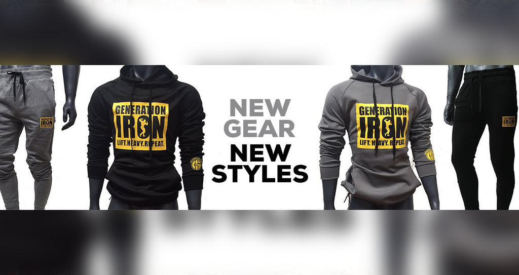 New Gear, New Style At The Generation Iron Store!