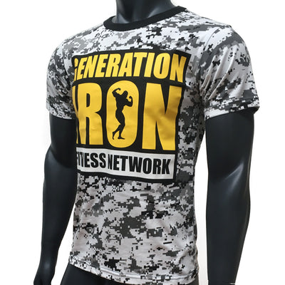 Generation Iron Digital Camo Tee