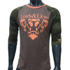 Lords & Lion Raglan Lion Crest Camo