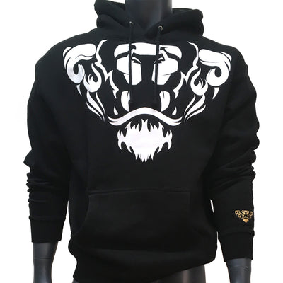 Lords & Lions Hood Lion Crest Black