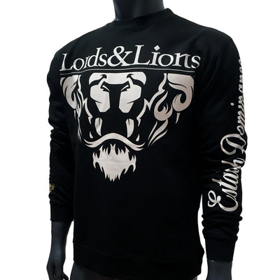Lords & Lion Crewneck Lion Crest