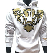 Lords & Lions Hood White Lion Crest