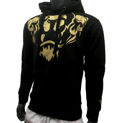 Lords & Lion Hood Lion Crest Gold/Black