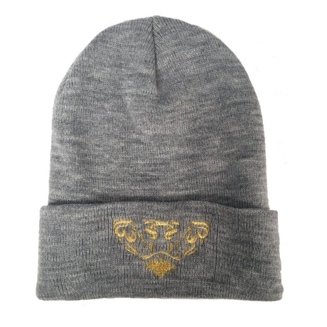 Lords & Lions Grey Beanie