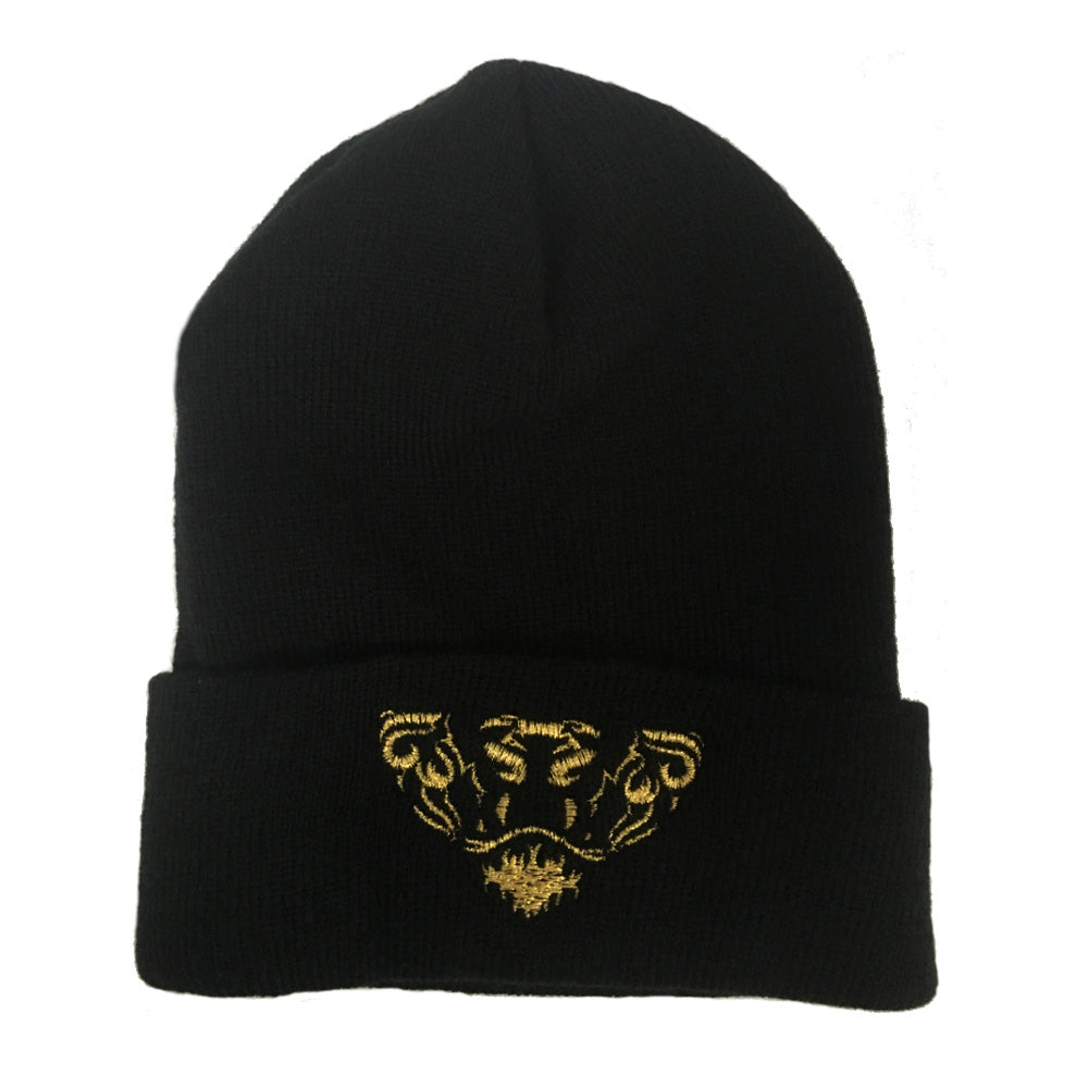 Lords & Lions Black Beanie