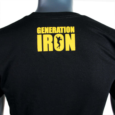 Generation Iron Classic Black & Yellow Stamp Tee