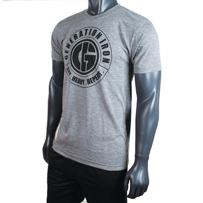 Generation Iron Classic Grey Stamp Tee