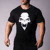 Strength Wars Skull Tee - Black