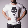 Strength Wars Skull Tee - White