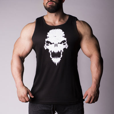 Strength Wars Skull Tank (Black)