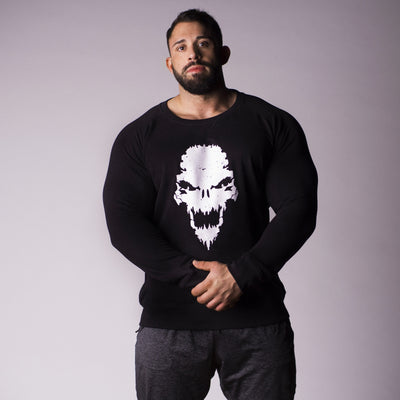 Strength Wars Skull Sweatshirt (Black)