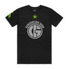 Generation Iron Green Star Tee - Black