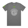 Generation Iron Green Star Tee - Grey