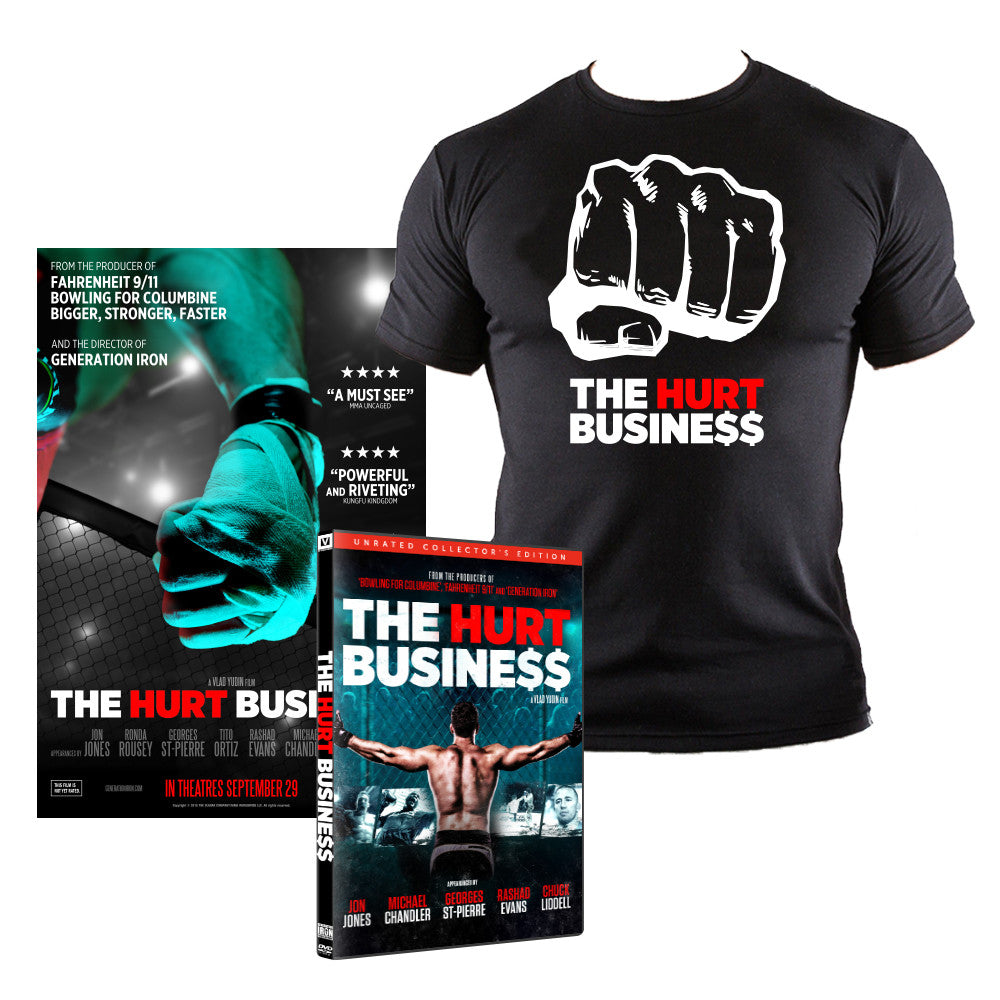 The Hurt Business Bundle (DVD, Poster, & Shirt)