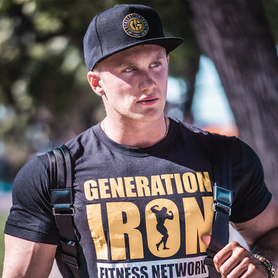 Generation Iron Stamp Snapback Hat