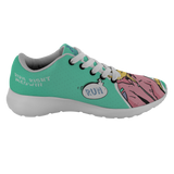 Hipster Cat Shoes by Phidippides - Mint Green