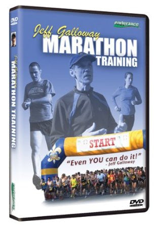 Jeff Galloway's DVD for Half and Full Marathon Training - Jeff Galloway's Phidippides E-Shop