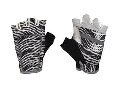 RunLites Black Wave Half Finger Gloves