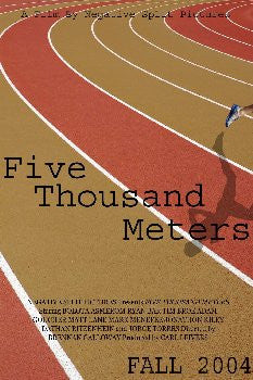 Five Thousand Meters - Nothing Comes Easy DVD - Jeff Galloway's Phidippides E-Shop
