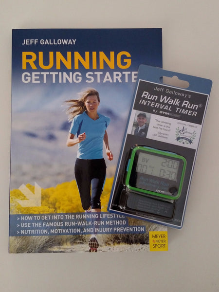 Starter Kit For Beginners (Running Getting Started + Run Walk Run Vibrating Timer)